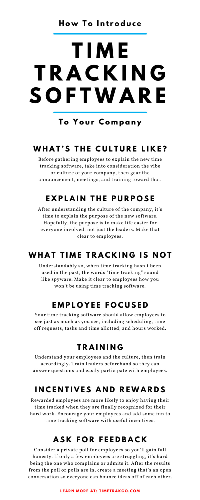 How To Introduce Time Tracking Software To Your Company